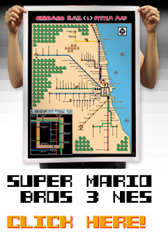 Super Mario Bros. 3 Chicago Map