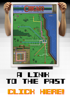 Zelda III: A Link to the Past Chicago Map